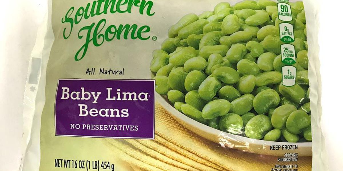 RECALL ALERT: Frozen lima bean packages may contain foreign objects