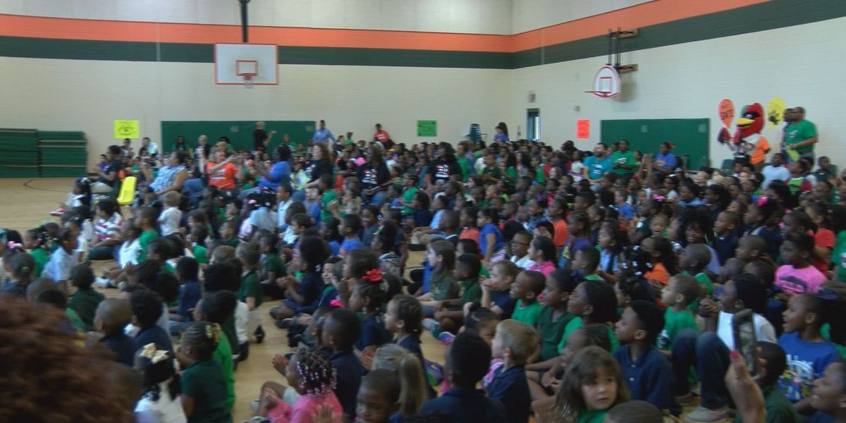 School holds PBIS pep rally to prep students for good behavior