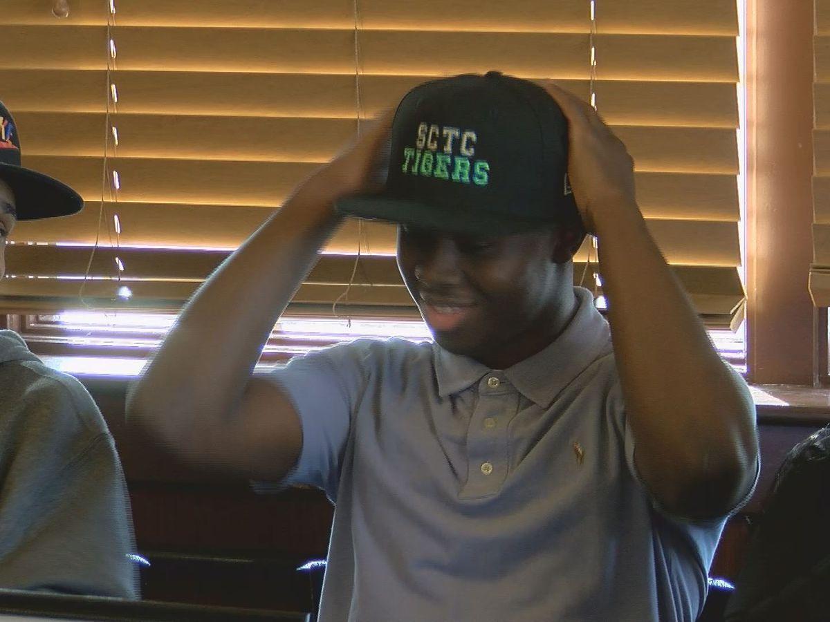 Dougherty Celebrates First Basketball Signing Of Season