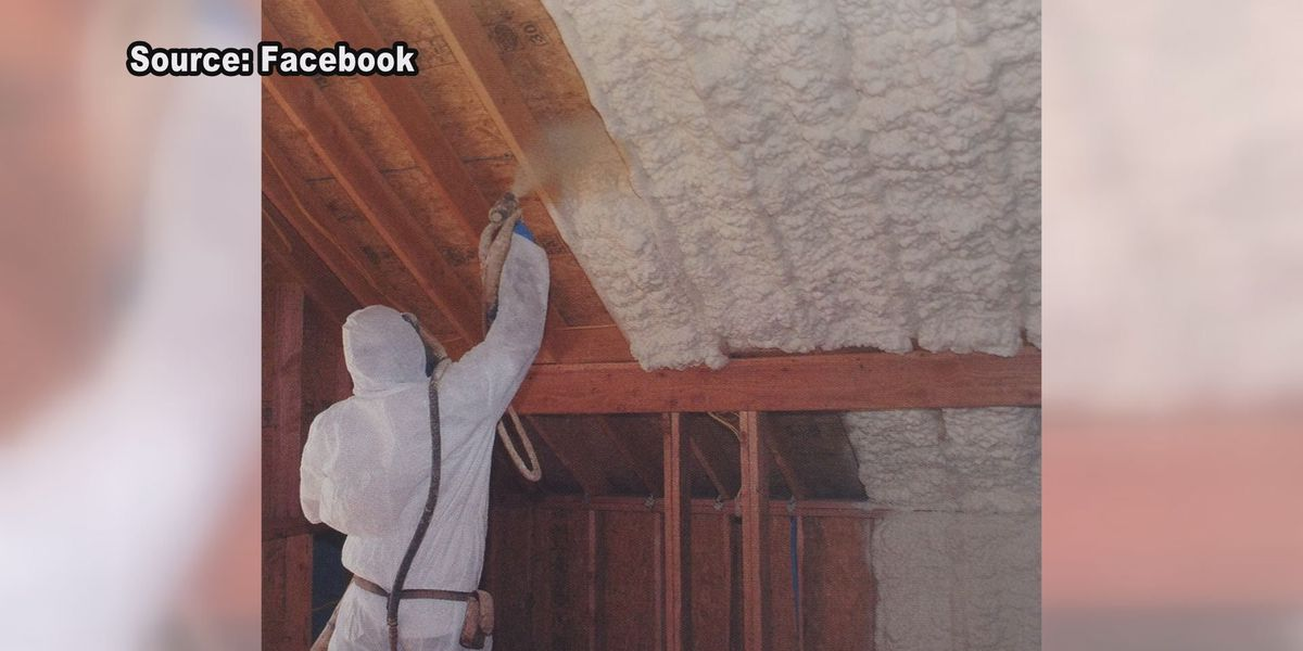 Business booming for spray foam insulation company as temps drop