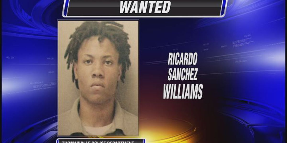 Thomasville police search for suspect in several car break-ins