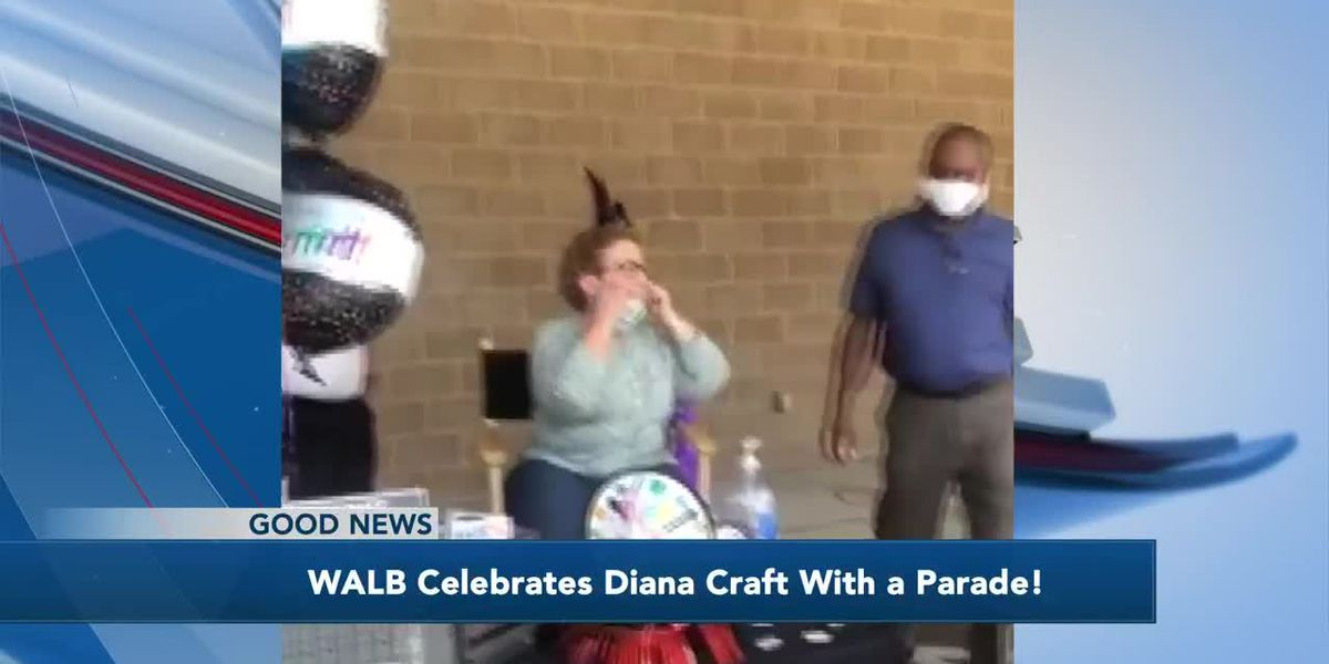 Good News: WALB celebrates Diana Craft with a parade
