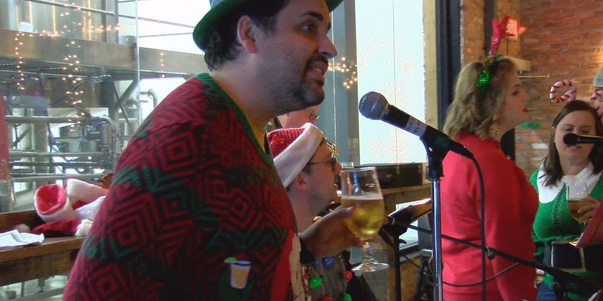 Albany Beer and Hymn event brings Christmas Cheer