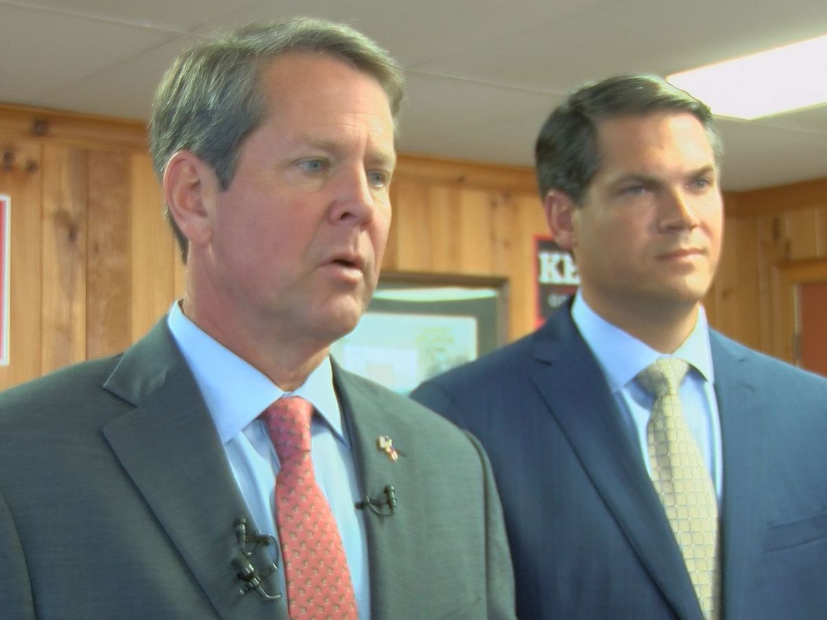 Kemp looks for common ground in first major address