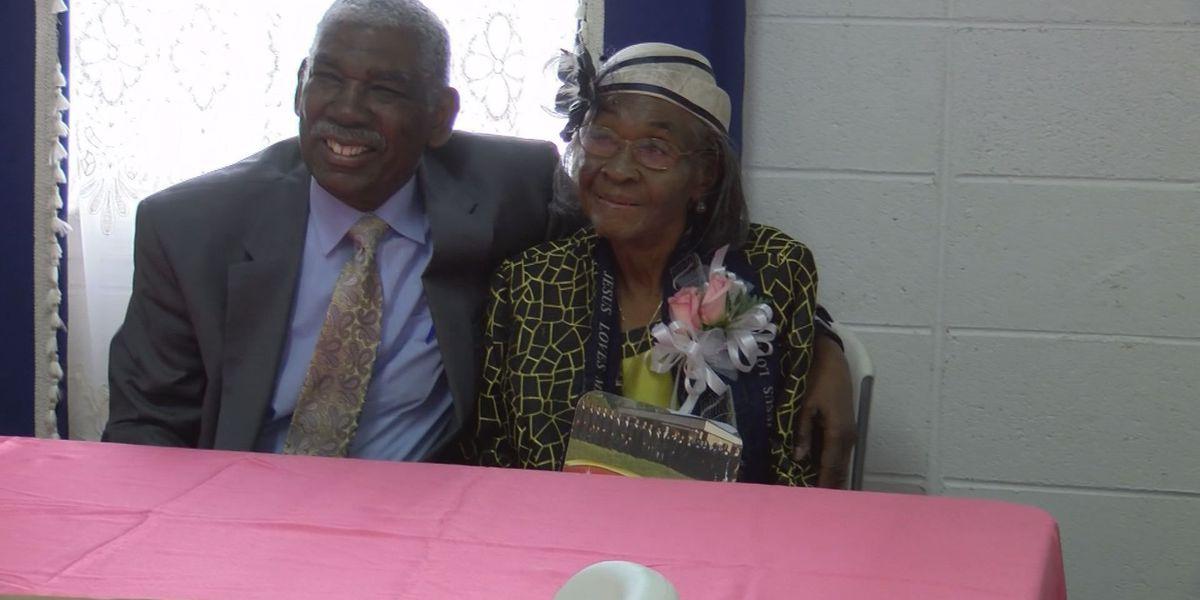 Albany woman celebrates 100th birthday