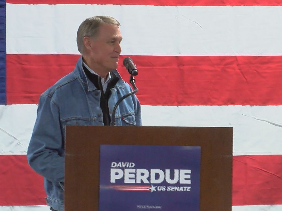 Perdue concedes in Senate runoff race