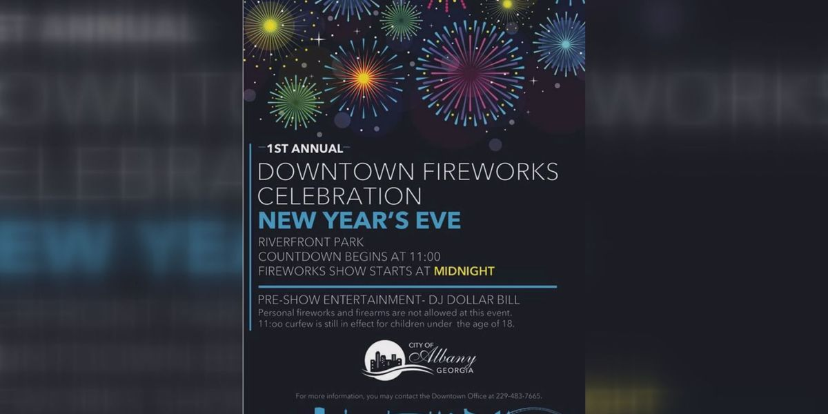 Albany just days from first ever new year's celebration