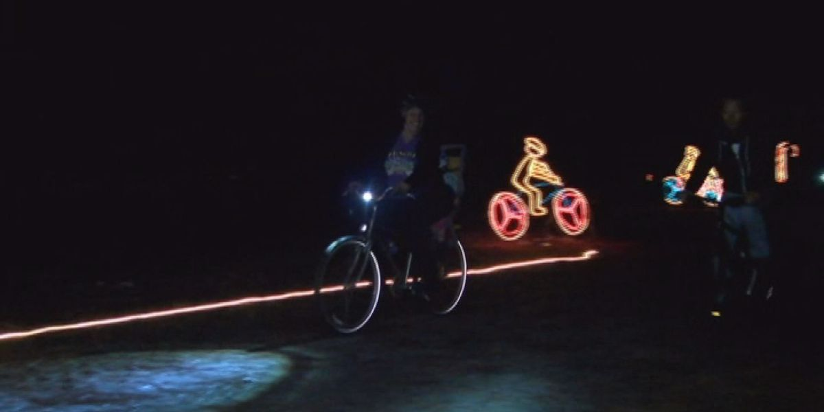 You can 'Bike through the lights' at Chehaw
