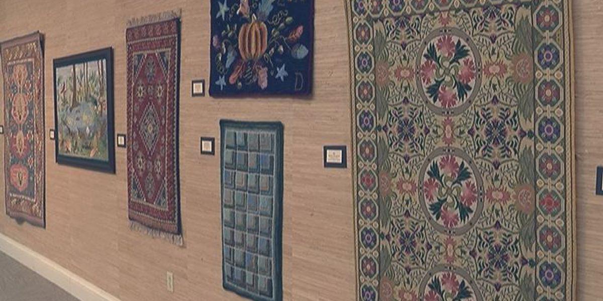 Colquitt Art Center offers special carpet displays