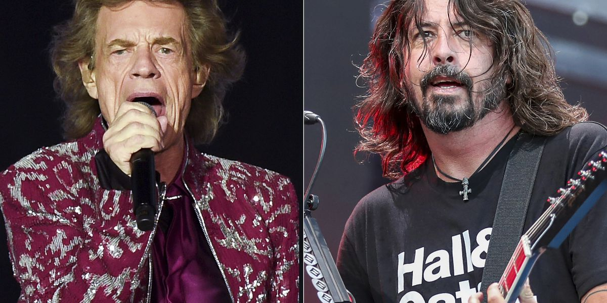 Mick Jagger and Dave Grohl team up for a pandemic anthem