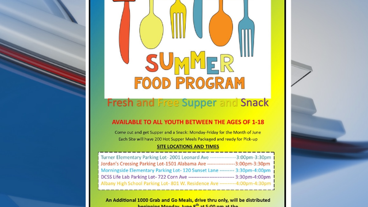 Albany outreach center offers free summer food program