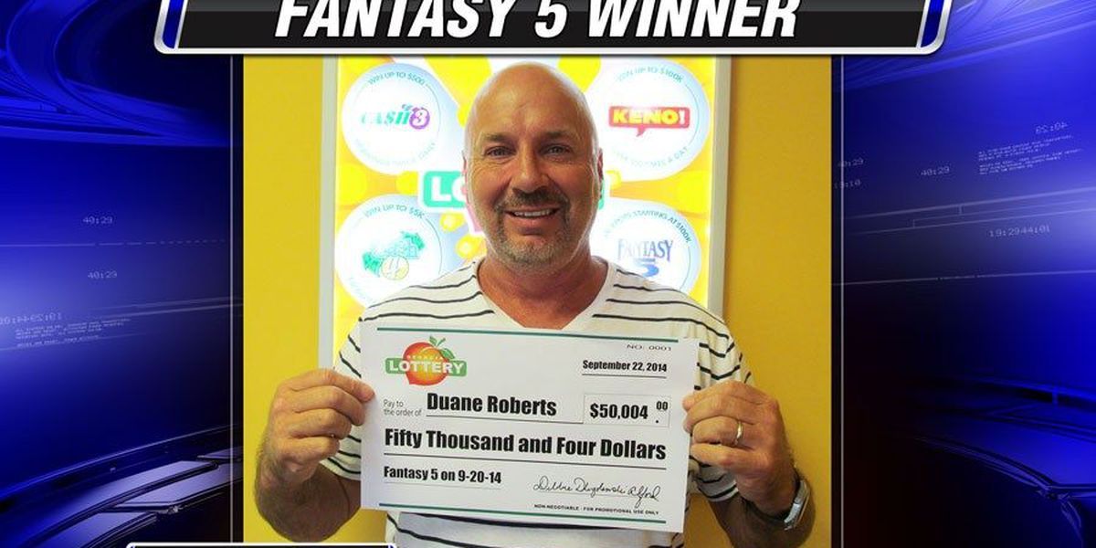 Man nets $50,000 in lottery drawing