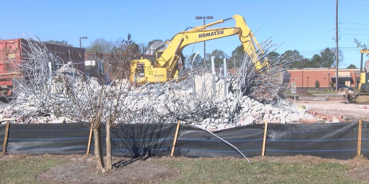 Demolition underway to make room for new Albany development