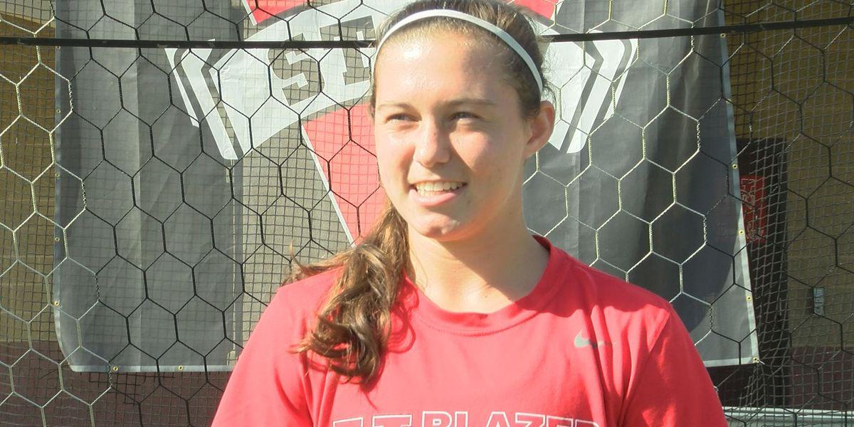 Ashley Lewis, far from finished, broke VSU soccer record