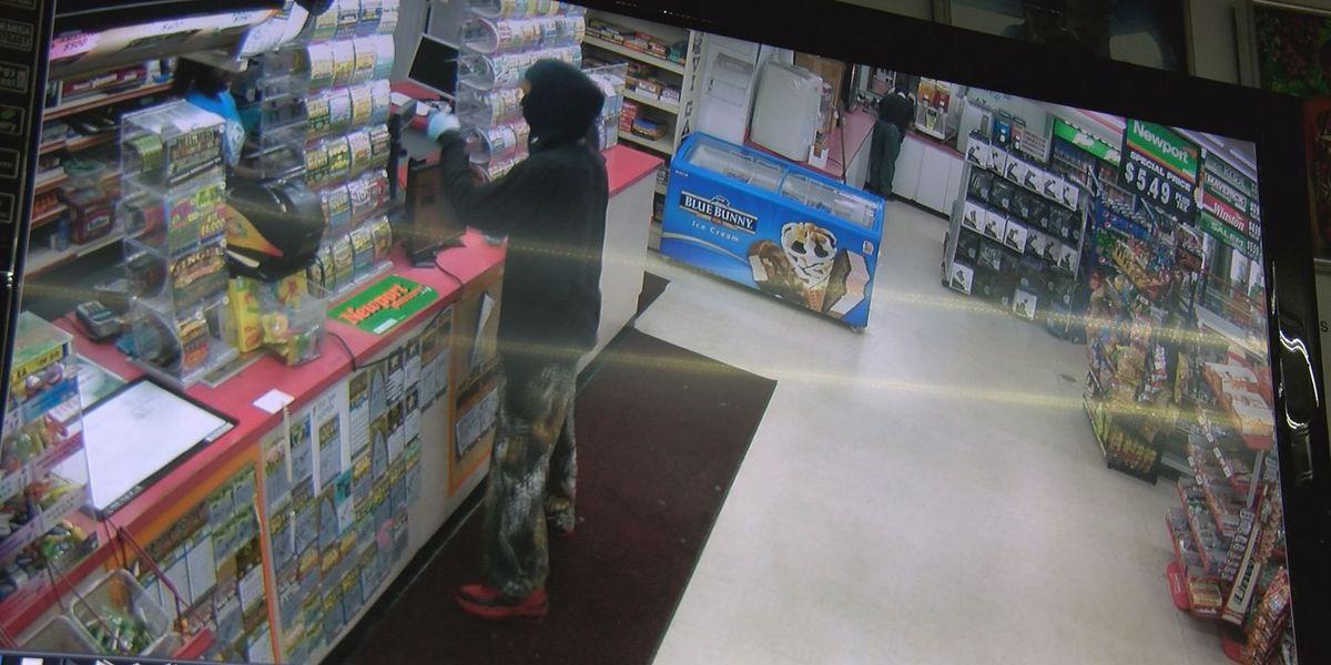 Mini Mart robber still at large