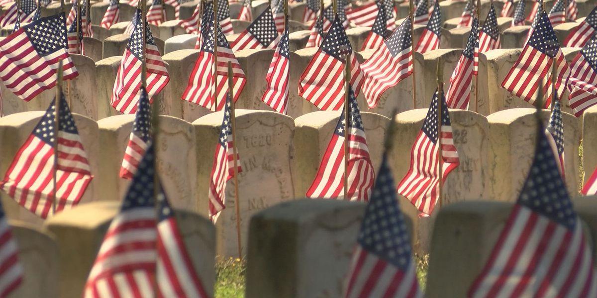 Volunteers honor veterans at Andersonville National Cemetery