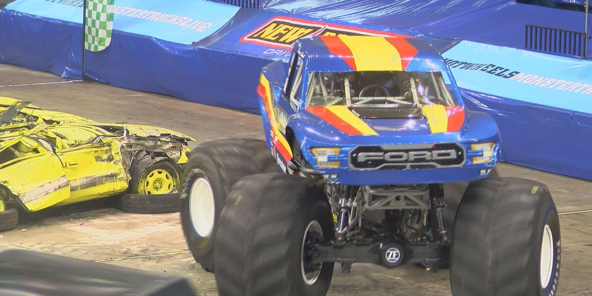 Hot Wheels monster truck driver previews Saturday's live shows in Albany