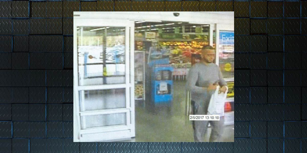 Sylvester PD searches for credit card fraud suspect