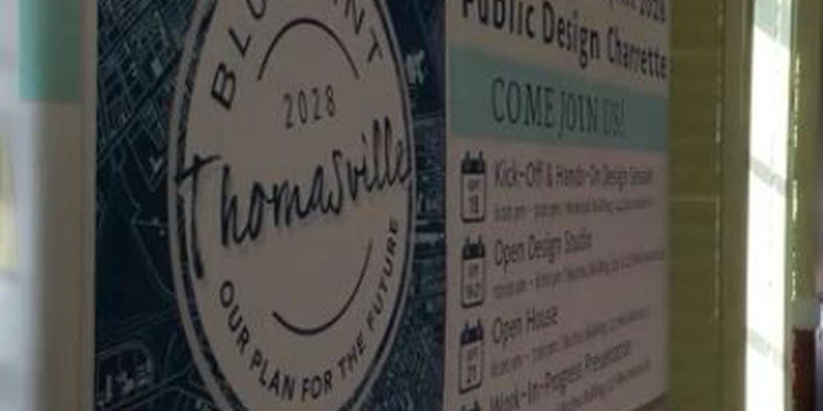 BLUEPRINT 2028 : Community members excited for Thomasville's future plans