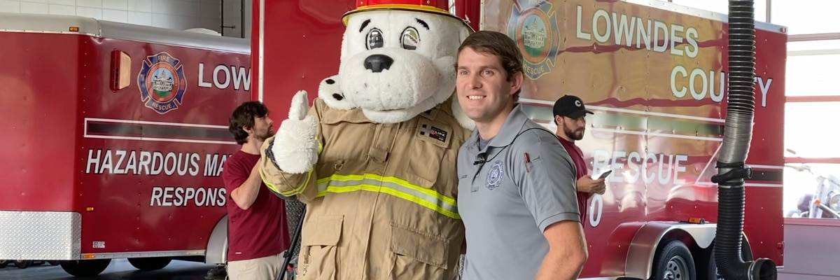 Fire Prevention Month education goes virtual for Lowndes Co.