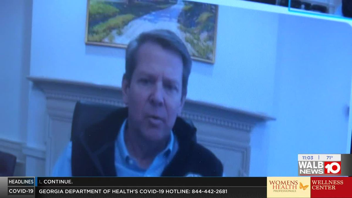 Gov. Kemp Covid-19 1 on 1 Interview