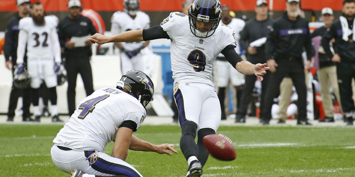 Justin Tucker repeats as AP's best kicker