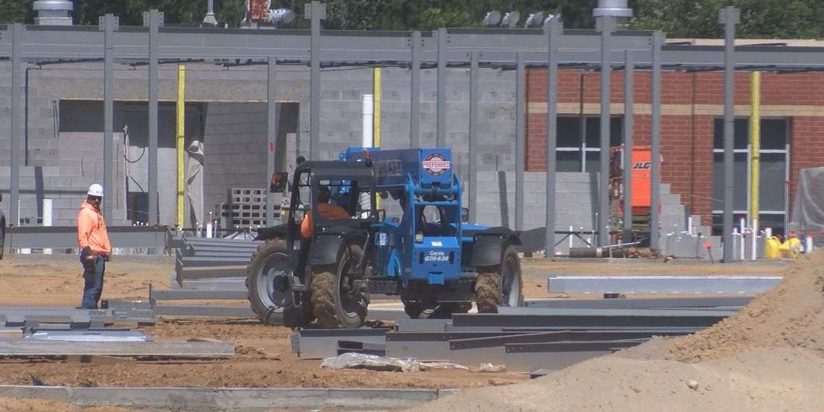 Tift Co. schools work on new additions