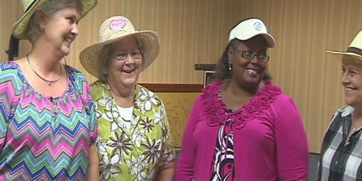 County employees support coworker in cancer fight