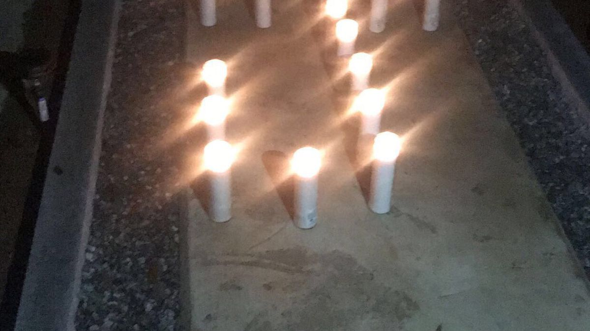 Albany family honors murder victim with vigil