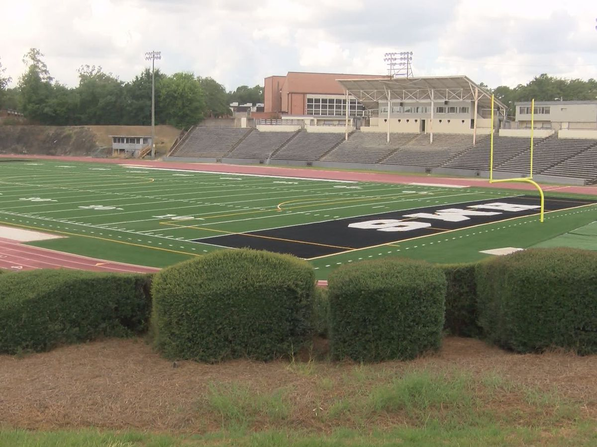 Frenzy of football games headed to Hugh Mills Stadium
