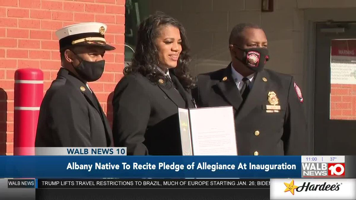 Albany native to recite Pledge of Allegiance at Inauguration