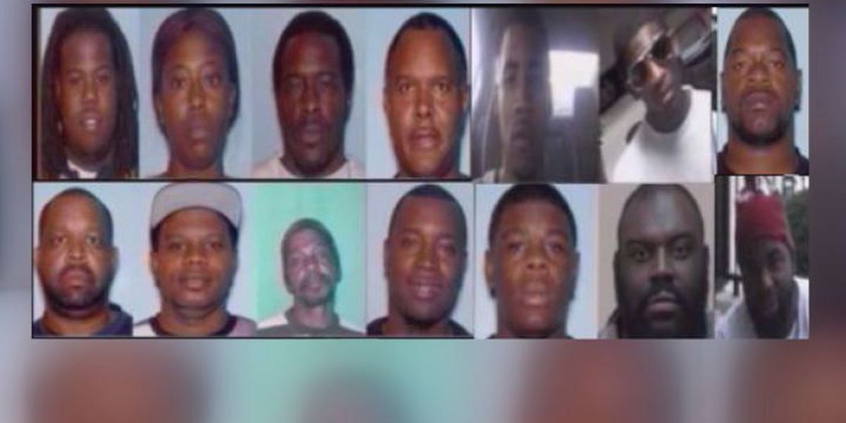 Most Wanted: 14 sought for making 'Purple Drank'