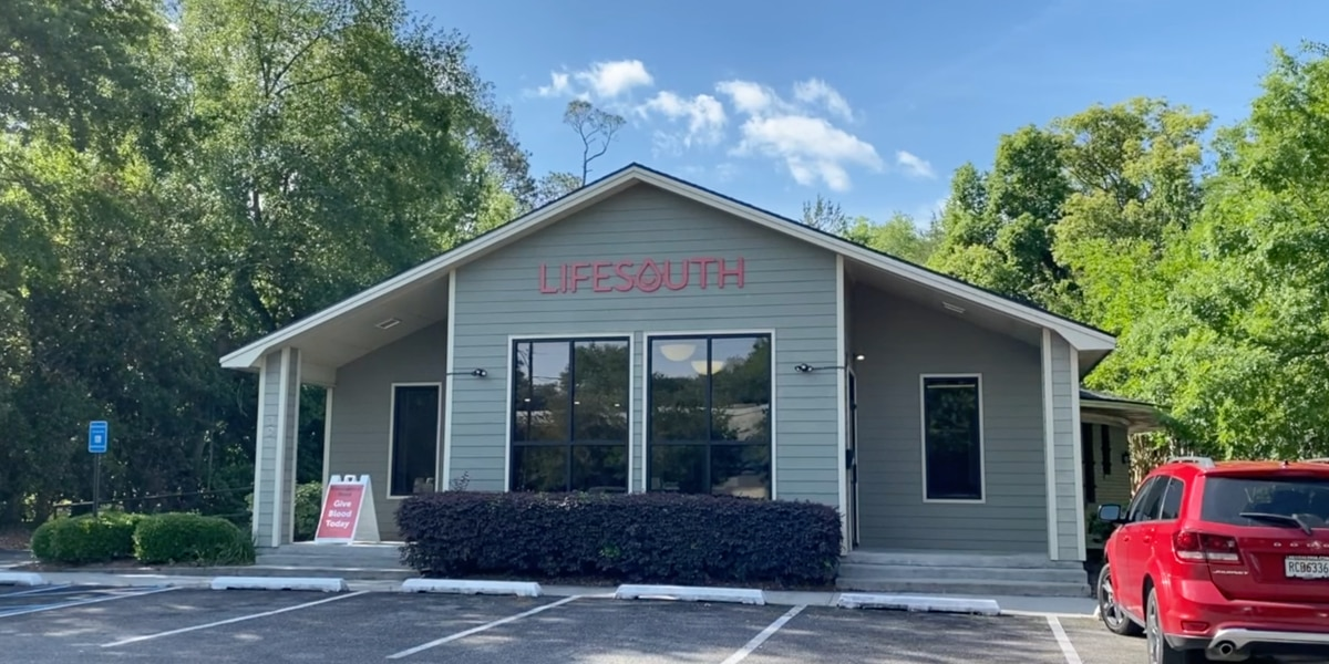 LifeSouth struggling with blood shortage, seeks donors