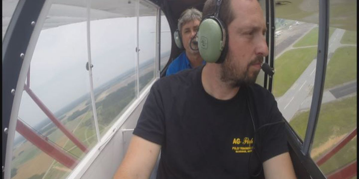 Crop dusters help missionary pilot-in-training