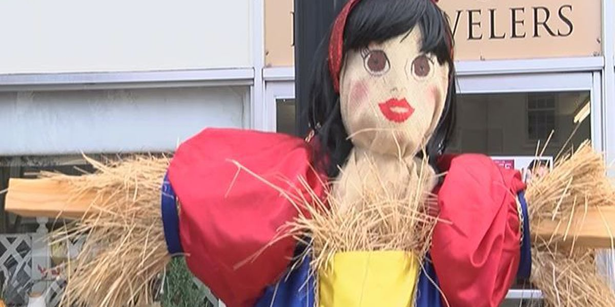 Camilla holds first Downtown Scarecrow contest