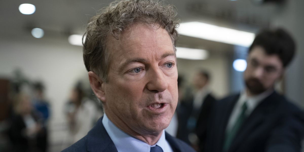 Sen. Rand Paul kept working for six days after virus test