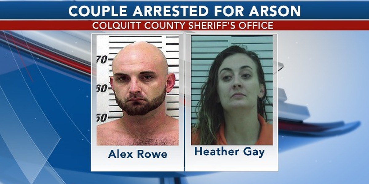 Couple charged in Moultrie arson