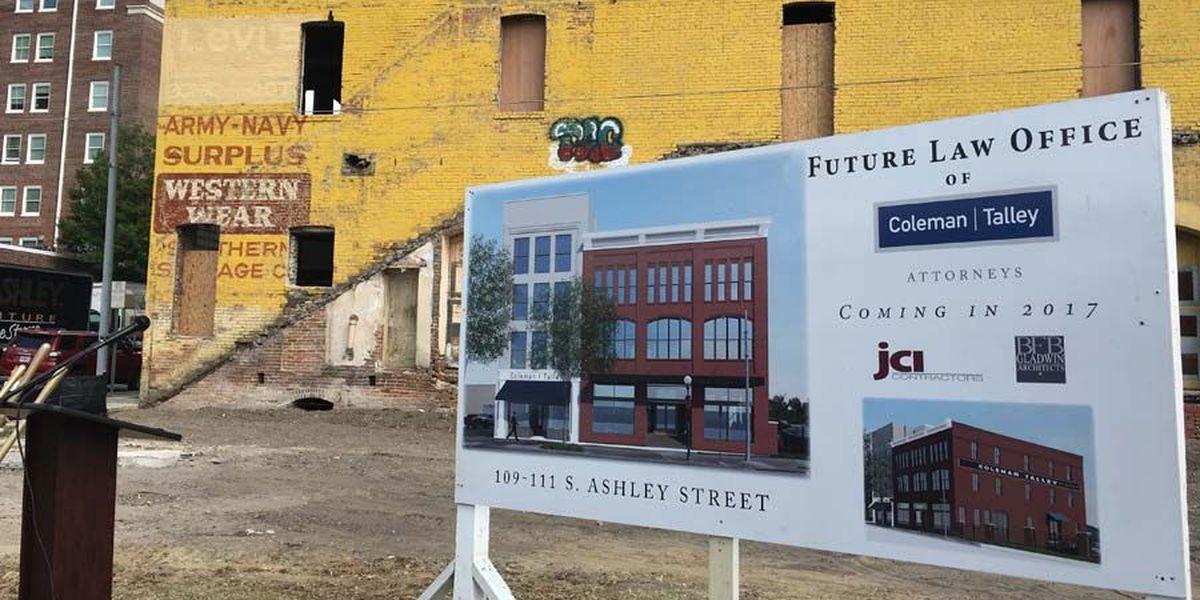 Valdosta law firm breaks ground on new building