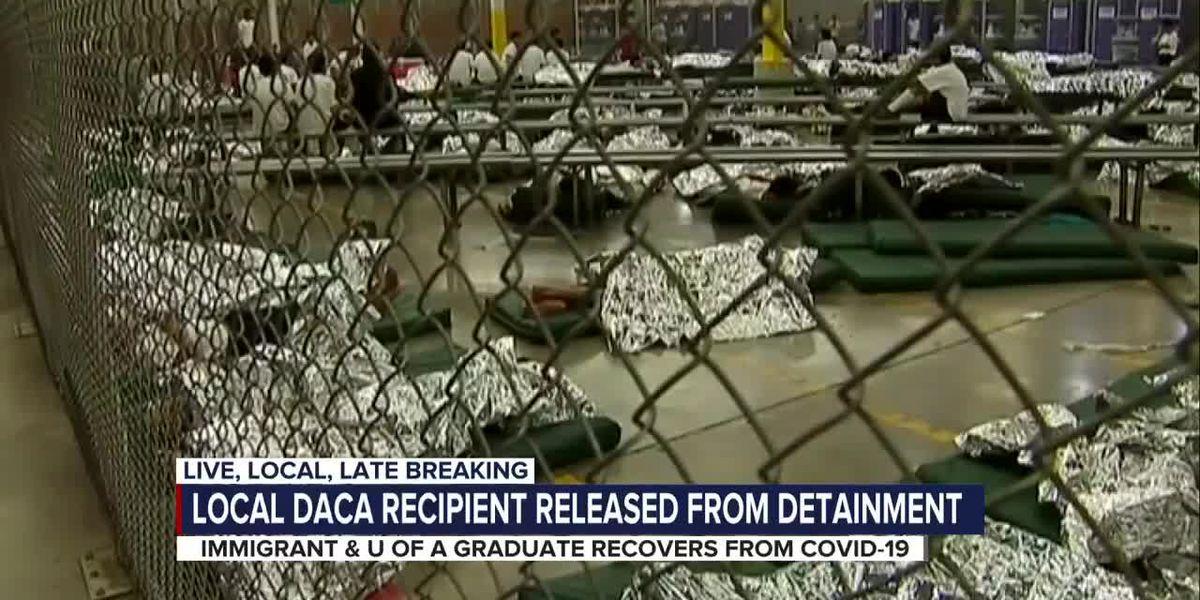 DACA recipient, UA grad, COVID-19 survivor released from detention center