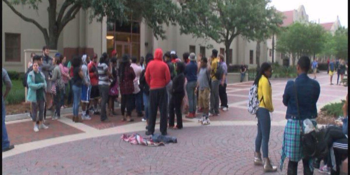 Flag protests raise safety concerns at VSU