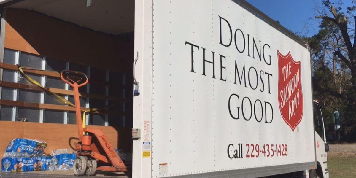 Salvation Army donates to SWGA