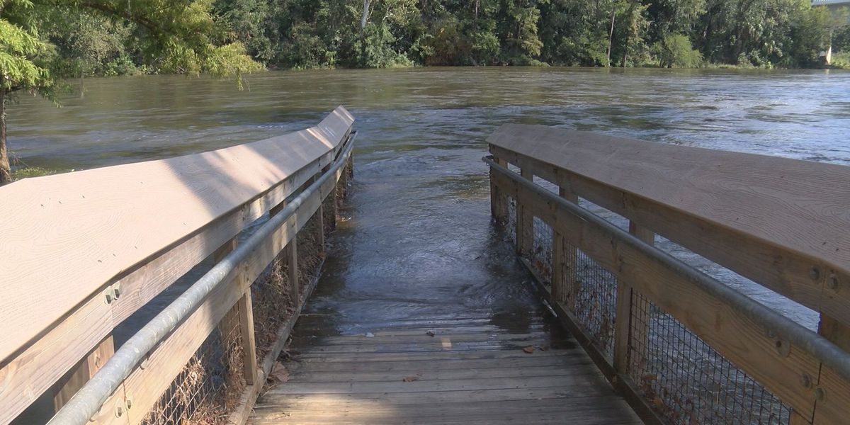 Flint River water levels increases post-Irma