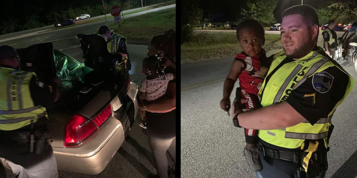 When a mom in Albany was in need, Savannah officers came to her rescue