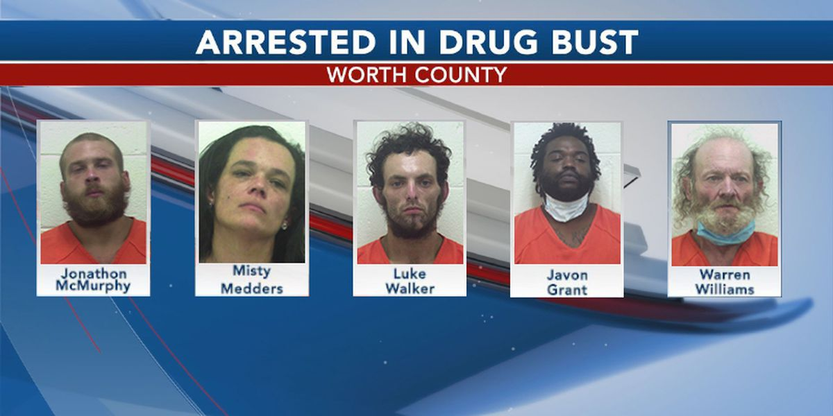 More than 30 warrants issued in Worth Co. drug bust