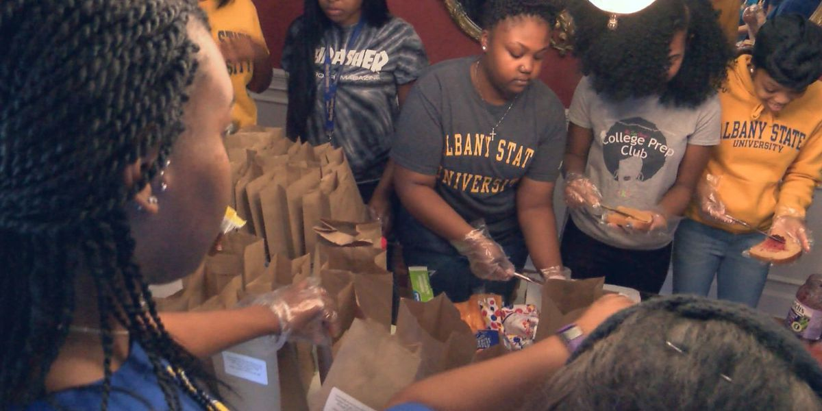 Churches, ASU students get together to deliver more meals to storm victims
