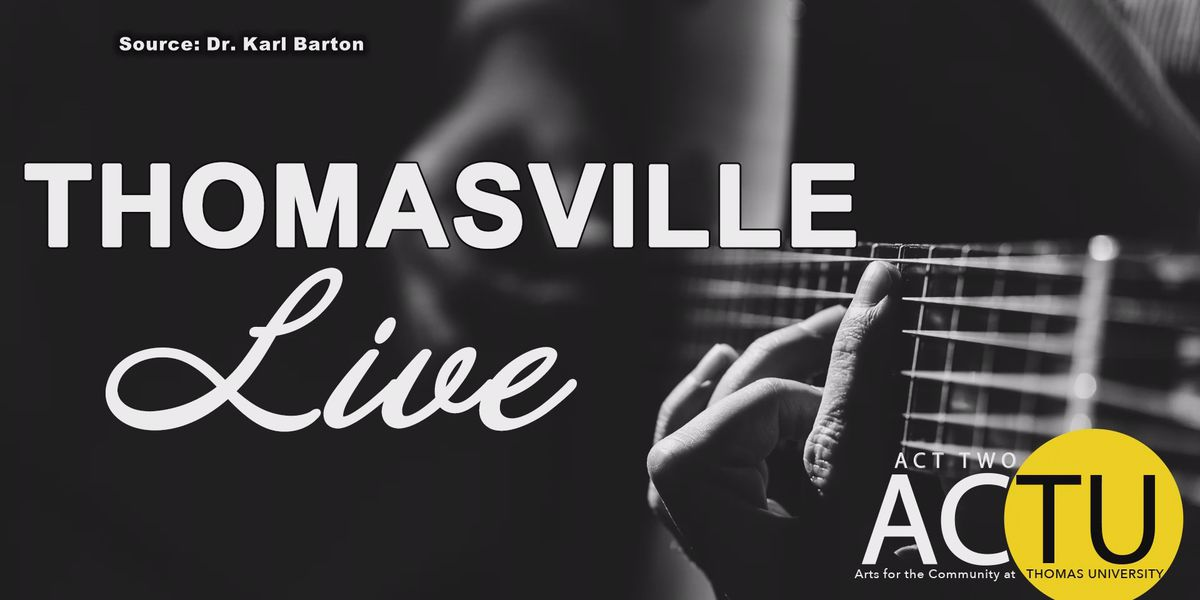 University offers 'Thomasville Live' musical performances