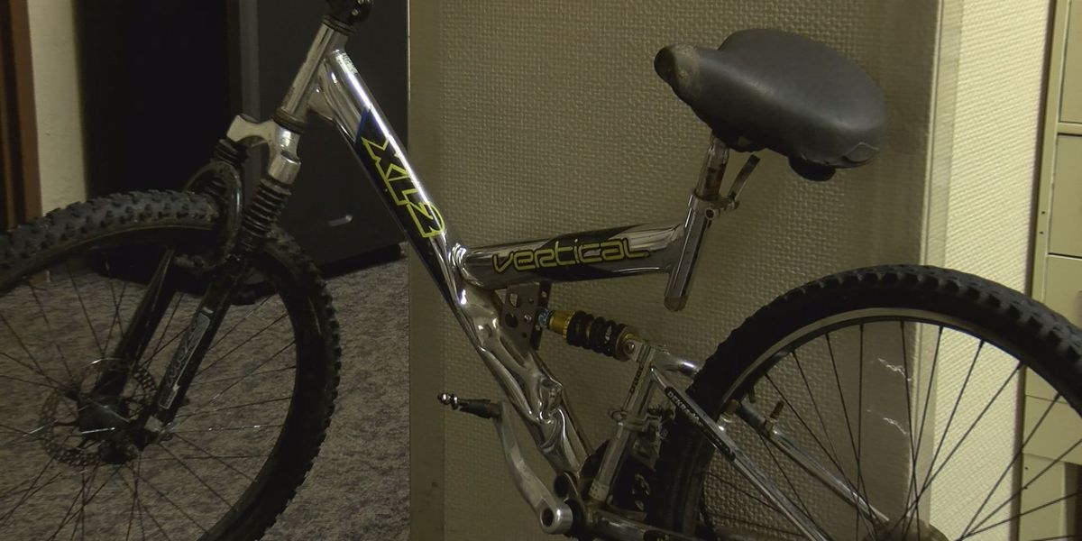 Bicyclist hit by truck, injured