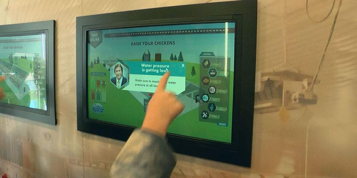 Mobile classroom teaches kids about agriculture