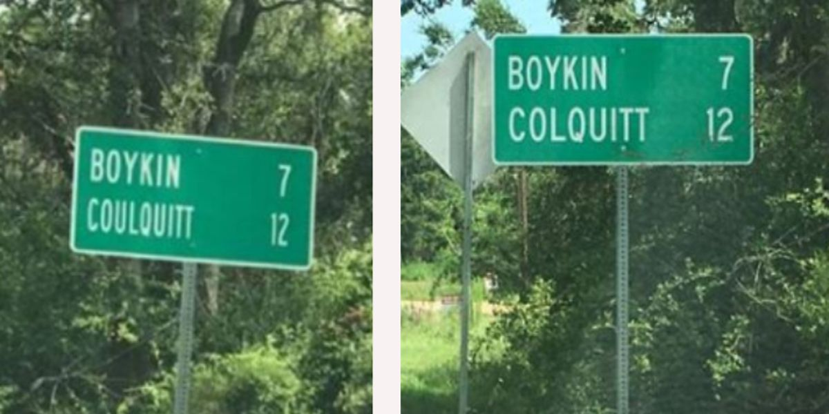 'Coulquitt to Colquitt': Misspelled sign replaced after social media post