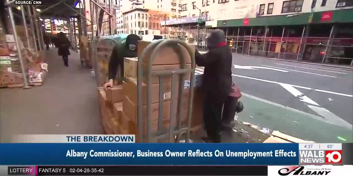 Albany Commissioner, Business Owner Reflects on Unemployment effects